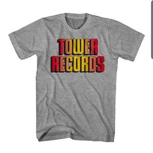 Super Cool Tower Records Vintage Style T-shirt